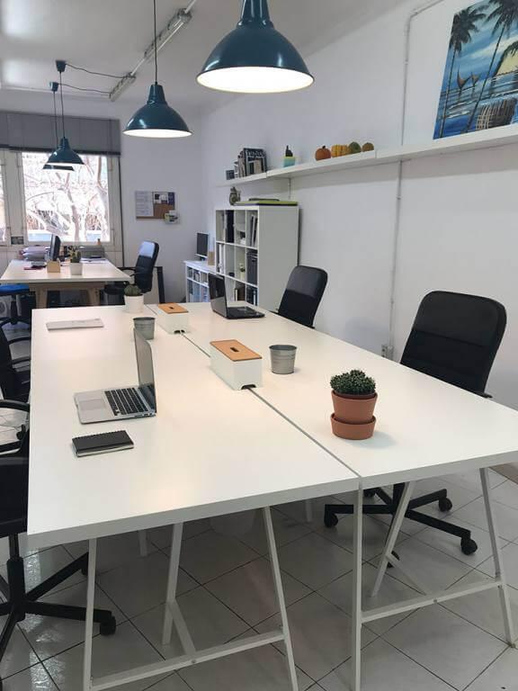 Petit sant joan oficina compartida en barcelona for Oficina de empleo barcelona