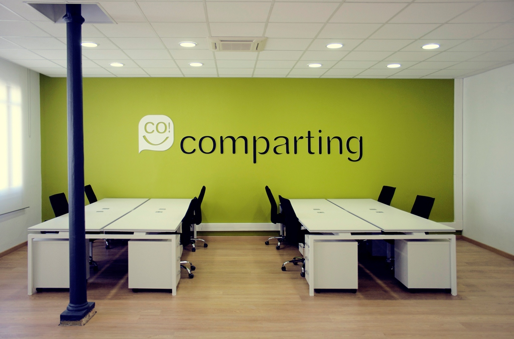 Comparting coworking en barcelona for Oficina bicing