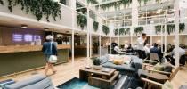 Centro de negocios con coworking Barcelona WeWork Ciutat de Granada