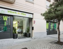 Centro de negocios con coworking Madrid Work in Rio