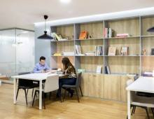 Centro de negocios con coworking Madrid Spaces Retiro