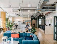 Centro de negocios con coworking Barcelona WeWork Carrer de Pallars
