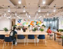 Centro de negocios con coworking Madrid WeWork Goya