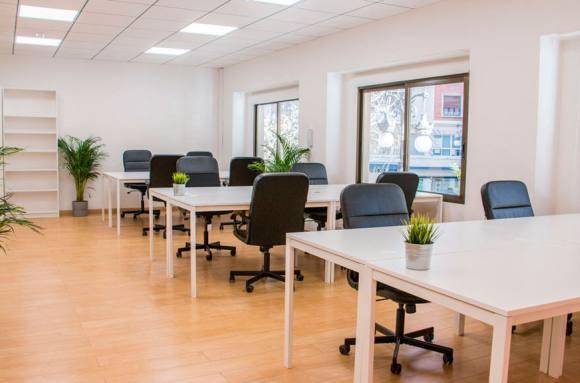 Centro de negocios con coworking Valencia Oficinas Mercado Central