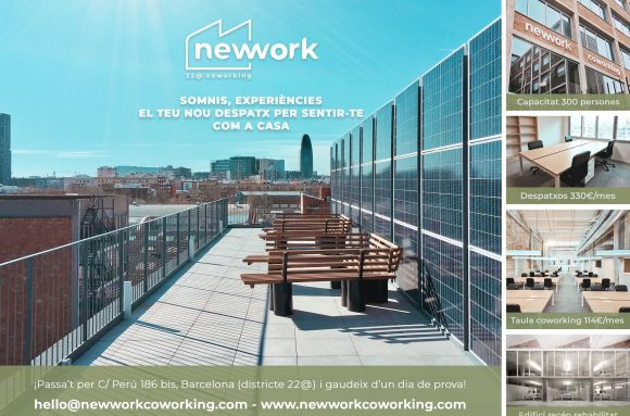 Centro de negocios con coworking Barcelona newwork