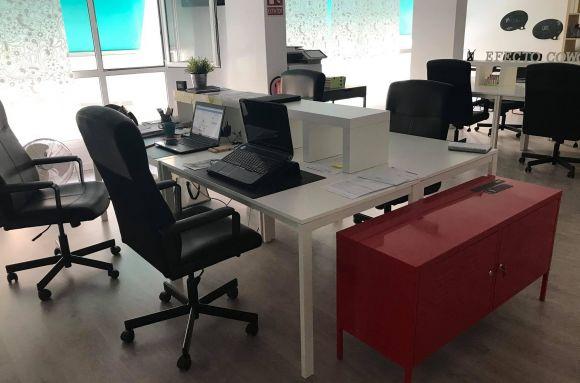 Centro de negocios con coworking Alcira Efecto Cowork Alzira