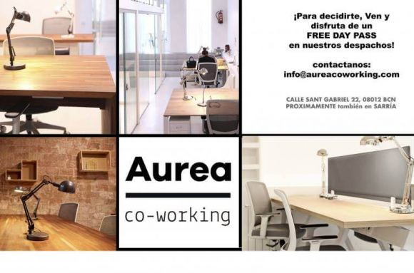 Coworking Barcelona AUREA  co-working