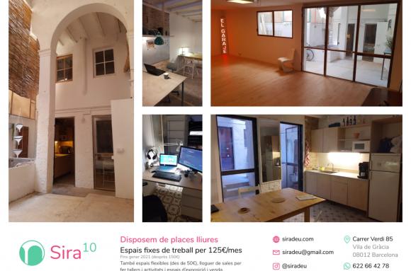 Coworking Barcelona Sira10