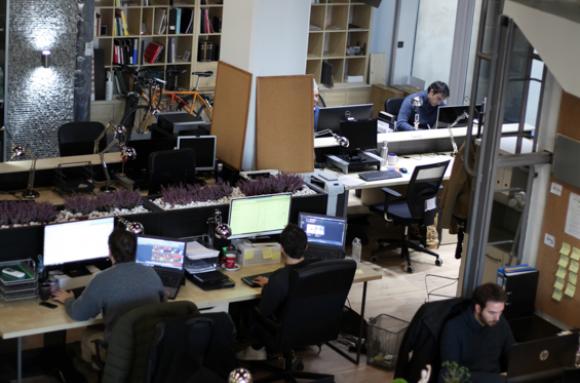 Centro de negocios con coworking Bilbao Kai Atelier