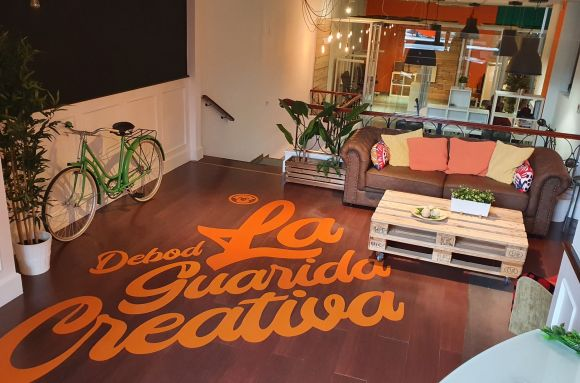 Coworking Madrid La Guarida Creativa (Debod)