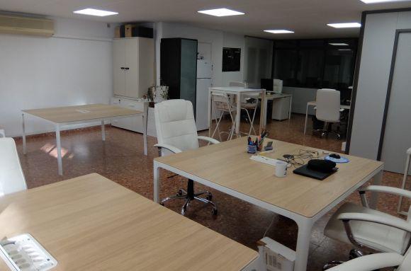 Oficina compartida Barcelona Ecoworking Roma