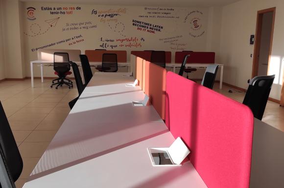 Centro de negocios con coworking Palamós Epicentre Coworking Palamós