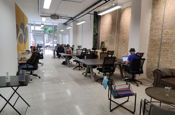 Coworking Valencia Flying Bean Workspace