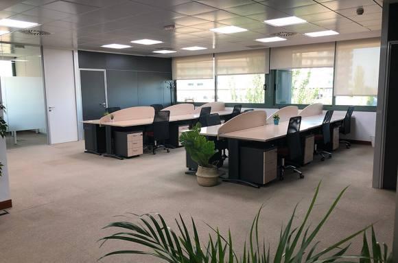 Centro de negocios con coworking Tres Cantos babbid - Coworking, oficinas y despachos