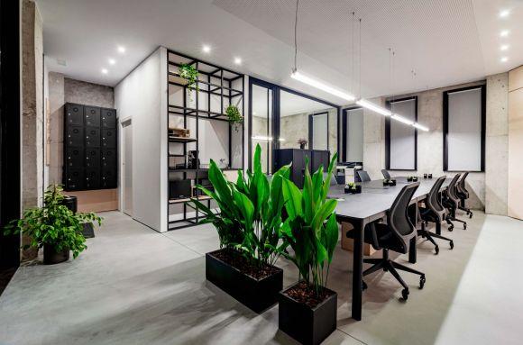 Business center with coworking Vigo OCHD Workspace