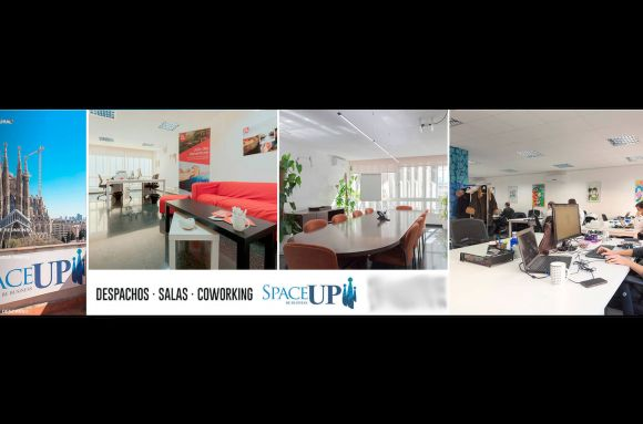 Centro de negocios con coworking Barcelona Space Up