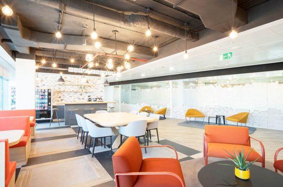 Centro de negocios con coworking Madrid Lexington Azca