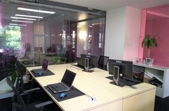 Oficina compartida Valencia Despacho Pacman