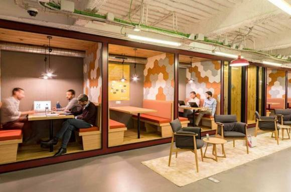 Centro de negocios con coworking Madrid Spaces Madrid Rio