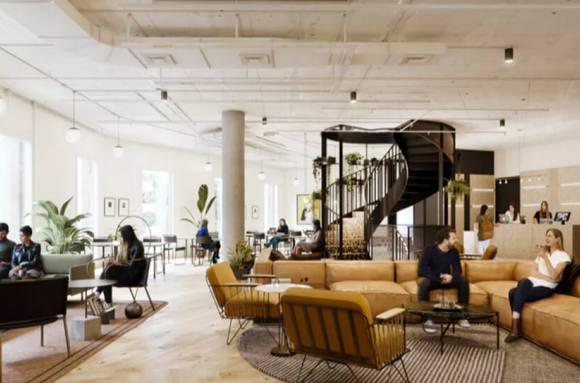Centro de negocios con coworking Madrid WeWork Castellana 43