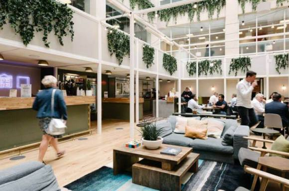 Business center with coworking Barcelona WeWork Ciutat de Granada