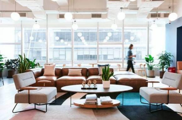 Centro de negocios con coworking Barcelona WeWork Diagonal