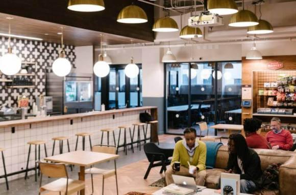 Centro de negocios con coworking Madrid WeWork Eloy Gonzalo