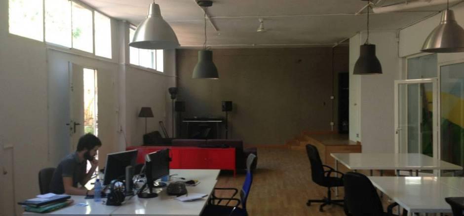 Oficina compartida Barcelona Estudio Multimedia tranquilo Gracia