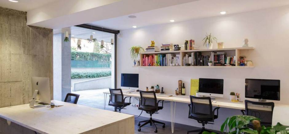 Oficina compartida Barcelona Aranda