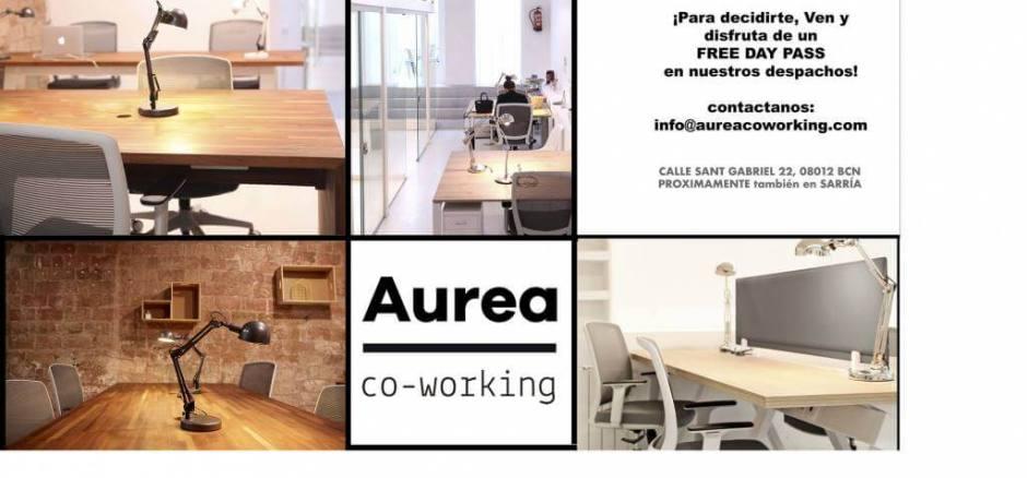 Coworking Barcelona AUREA  co-working