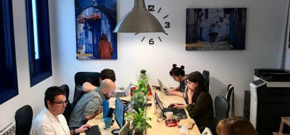 Coworking Madrid Coworking La Ofi