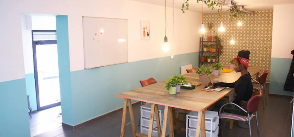 Oficina compartida Barcelona Hortensia
