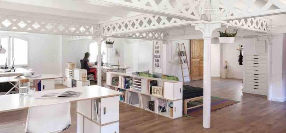 Oficina compartida Barcelona La Farinera