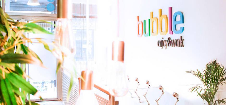 Coworking Madrid Bubble Center / Coworking & business