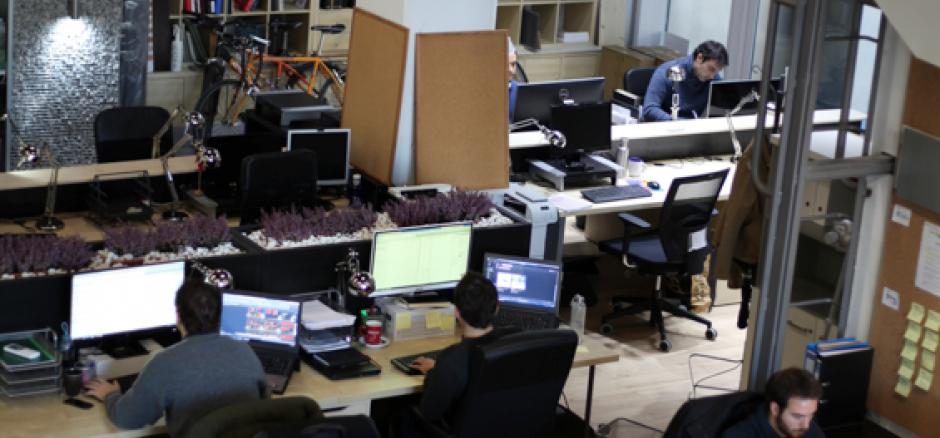 Centro de negocios con coworking Vizcaya Kai Atelier