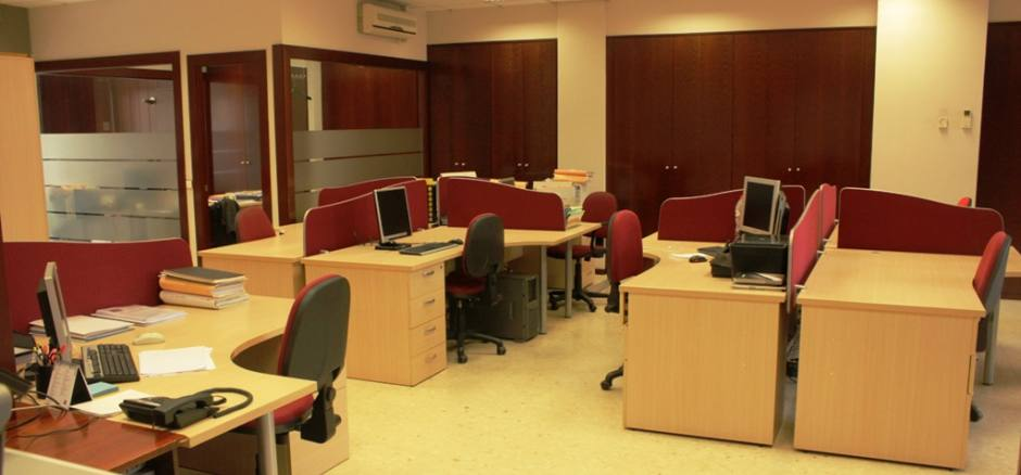 Centro de negocios con coworking Sabadell Espacios Colaborativos