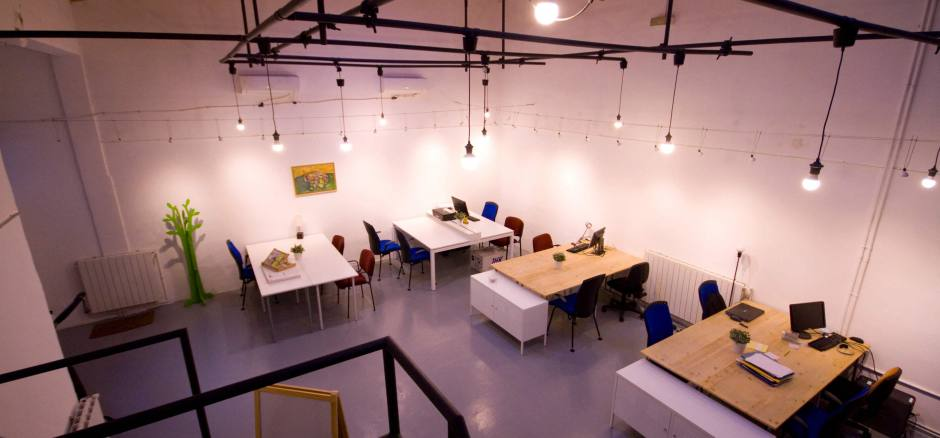 Coworking Madrid Espacio Geranios