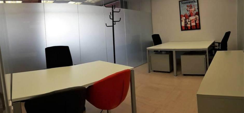 Centro de negocios Barcelona Despacho interior para 4-5 personas