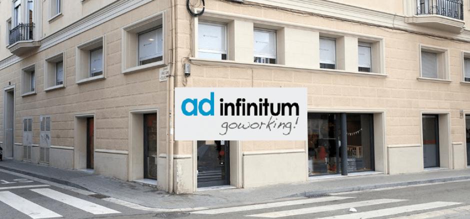 Centro de negocios con coworking Sabadell Ad Infinitum Tech Coworking Sabadell Bcn