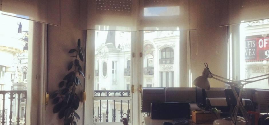 Oficina compartida Madrid Estudio compartido en Gran Vía
