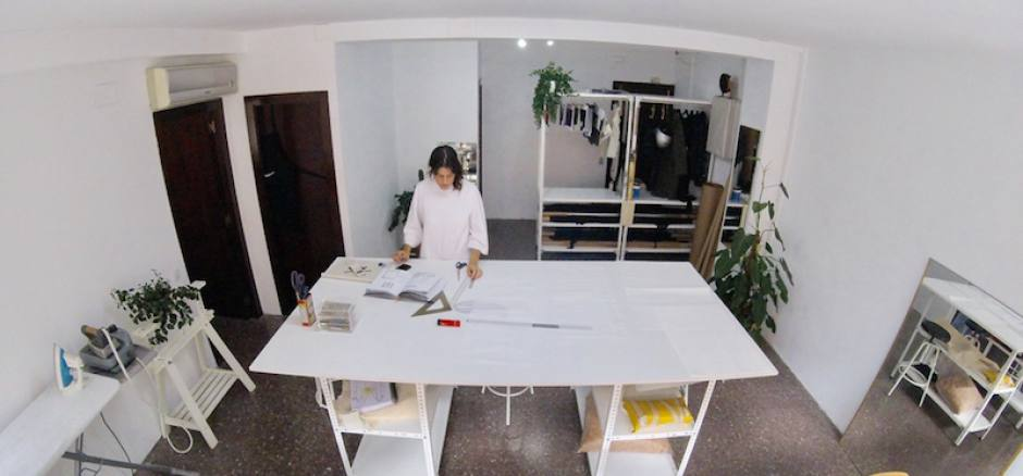 Oficina compartida Barcelona Taller de confección y diseño de moda