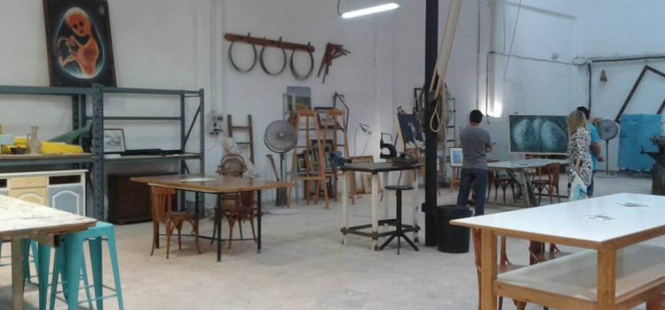 Coworking Valencia Espais en blanc artístico