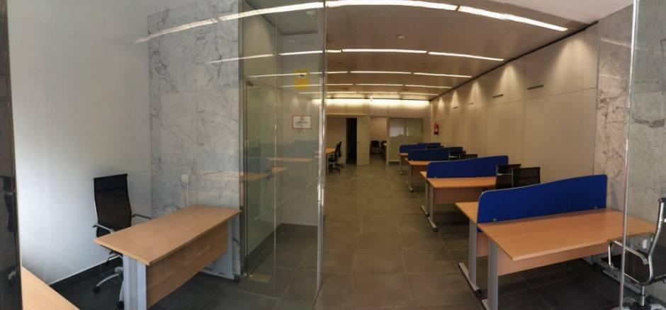 Centro de negocios con coworking Granada Gran Capitán