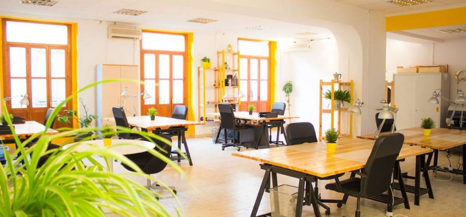 Oficina compartida Valencia Garagestudio Valencia