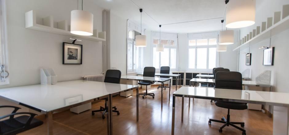 Oficina compartida Madrid Sol Coworking