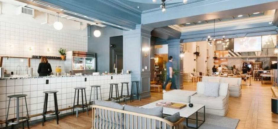 Business center with coworking Barcelona WeWork Passeig de Gracia 17