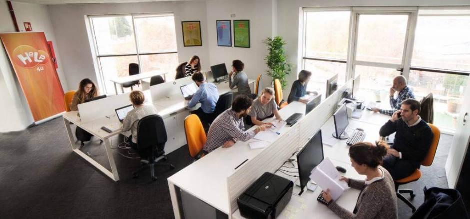 Coworking San Sebastían de los Reyes Centro de negocios Help4u