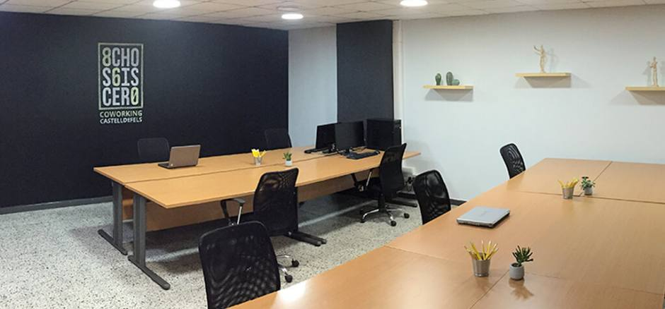 Centro de negocios con coworking Barcelona 860 Coworking Castelldefels