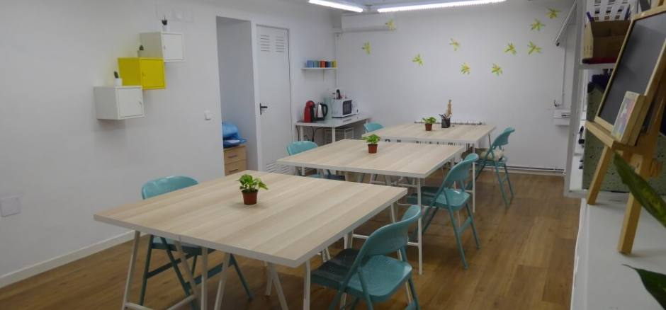 Coworking Madrid Fireflies creative space