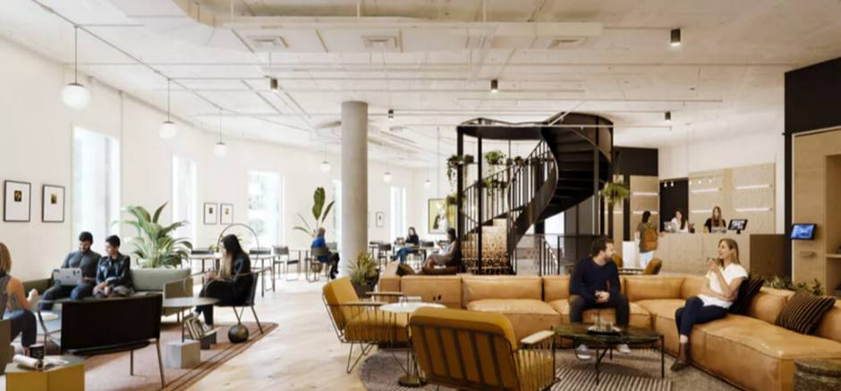 Business center with coworking Madrid WeWork Castellana 43